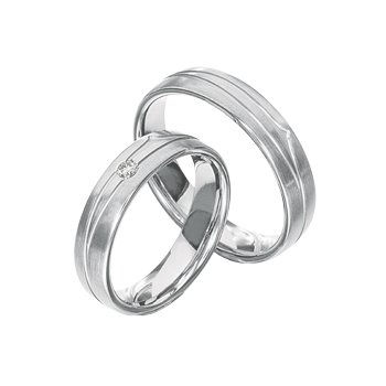 Palladium 5mm Wedding Band