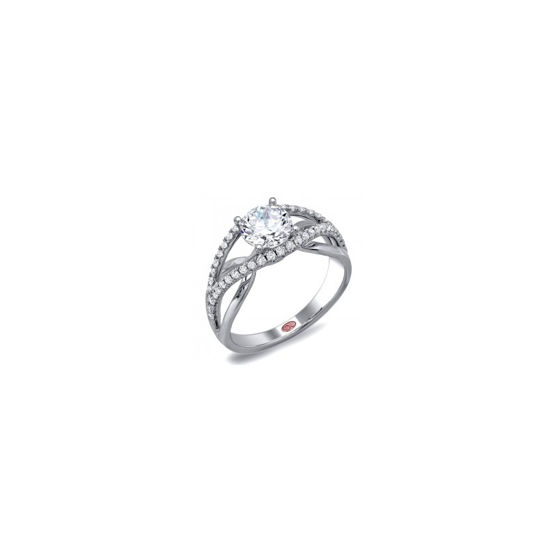Demarco Demarco DW5708 - 18k White Gold Engagement Ring by Demarco