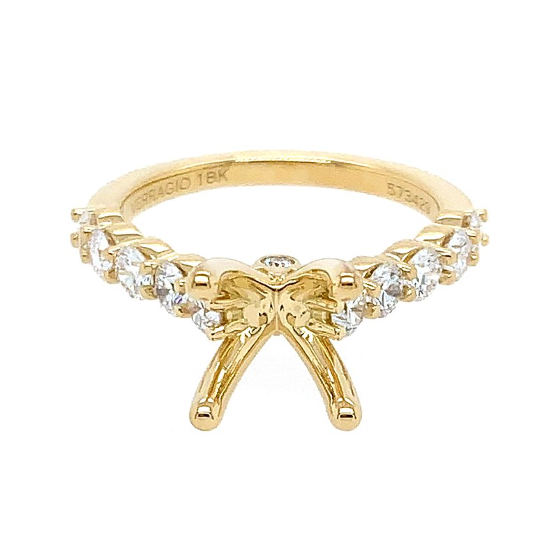 Verragio Verragio Couture ENG-0410LR in 18k Yellow Gold