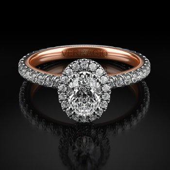 Verragio Tradition Collection TR150HOV Oval Halo Engagement Ring