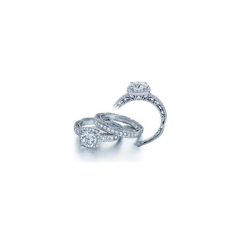 Verragio Verragio Venetian 5004 - 18k White Gold Diamond Engagement Ring by Verragio