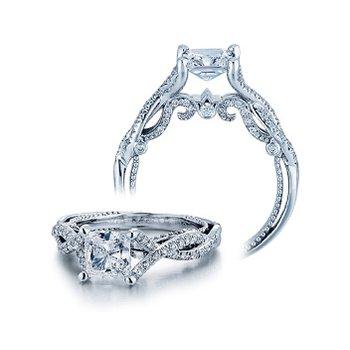 Verragio Insignia 7060 - 18k White Gold Diamond Engagement Ring by Verragio