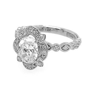 Verragio Renaissance V-977 BOV Oval Engagement Ring