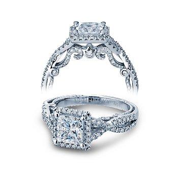 Verragio Insignia 7070P - 18k White Gold Diamond Engagement Ring by Verragio