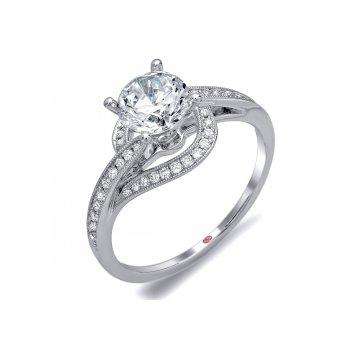 Demarco DW6095 - 18k White Gold Engagement Ring by Demarco [clone]