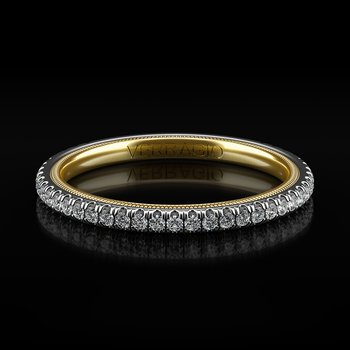 Tradition Collection Wedding Band - Style TR120W-2WY in 14k Two-Tone Gold