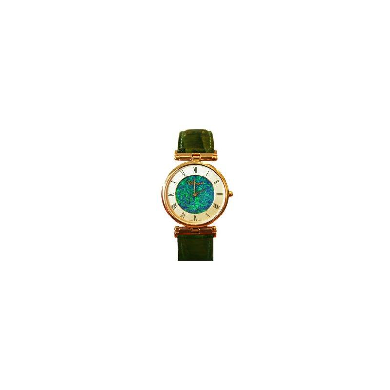 Swiss Watches Classique' Watches Genuine Australian Opal Dial Watch - 14-79GP OPD