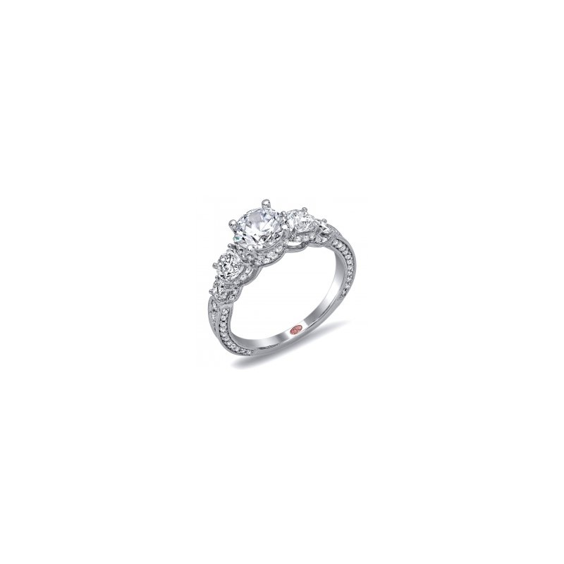 Demarco Demarco DW6032 - 18k White Gold Engagement Ring by Demarco