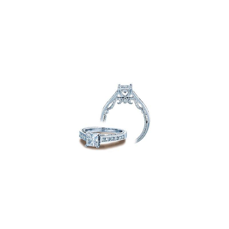 Verragio Verragio Insignia 7064P - Verragio Engagement Ring in 14k White Gold with Channel Set Diamonds
