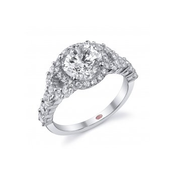 Demarco DW5609 - 18k White Gold Engagement Ring by Demarco