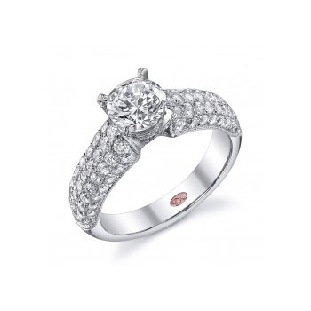 Demarco DW5275 - 18k White Gold Engagement Ring by Demarco