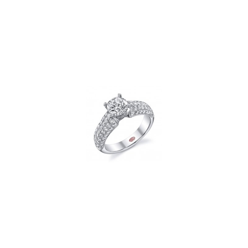 Demarco Demarco DW5275 - 18k White Gold Engagement Ring by Demarco
