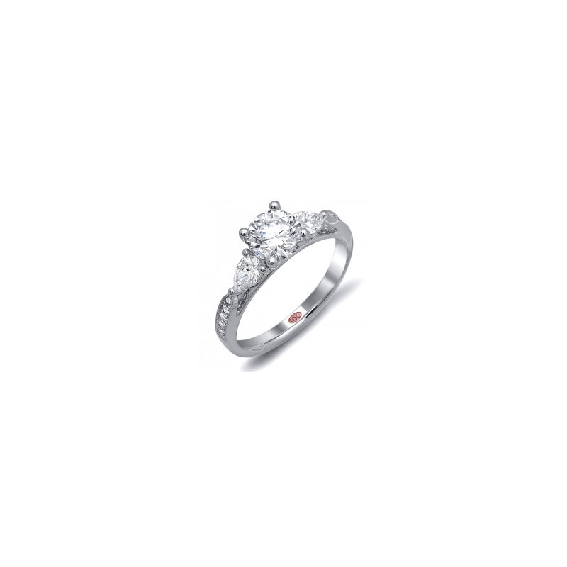 Demarco Demarco DW6070 - 18k White Gold Engagement Ring by Demarco