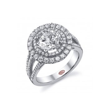 Demarco DW5432 - 18k White Gold Engagement Ring by Demarco