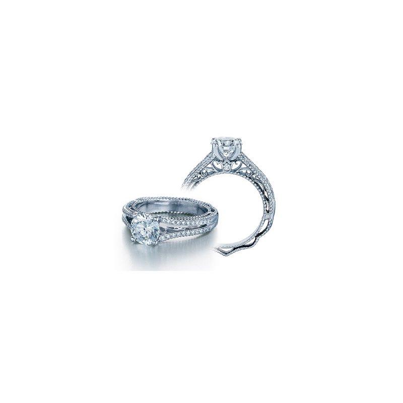 Verragio Verragio Venetian 5008 - 18k White Gold Diamond Engagement Ring by Verragio