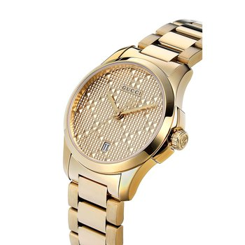 Gucci G-Timeless Gold 27mm Ladies Watch