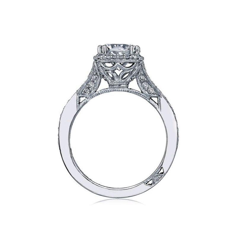 Tacori Dantela Platinum Engagement Ring