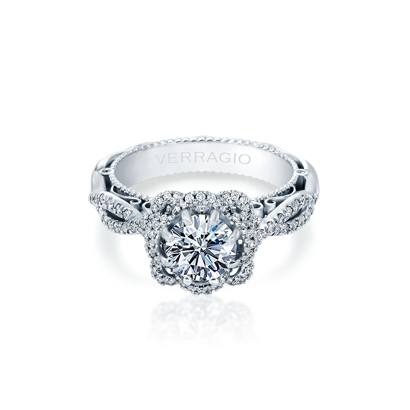 Verragio Venetian-5051R White Gold Engagement Ring