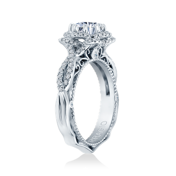 Venetian-5051R White Gold Engagement Ring