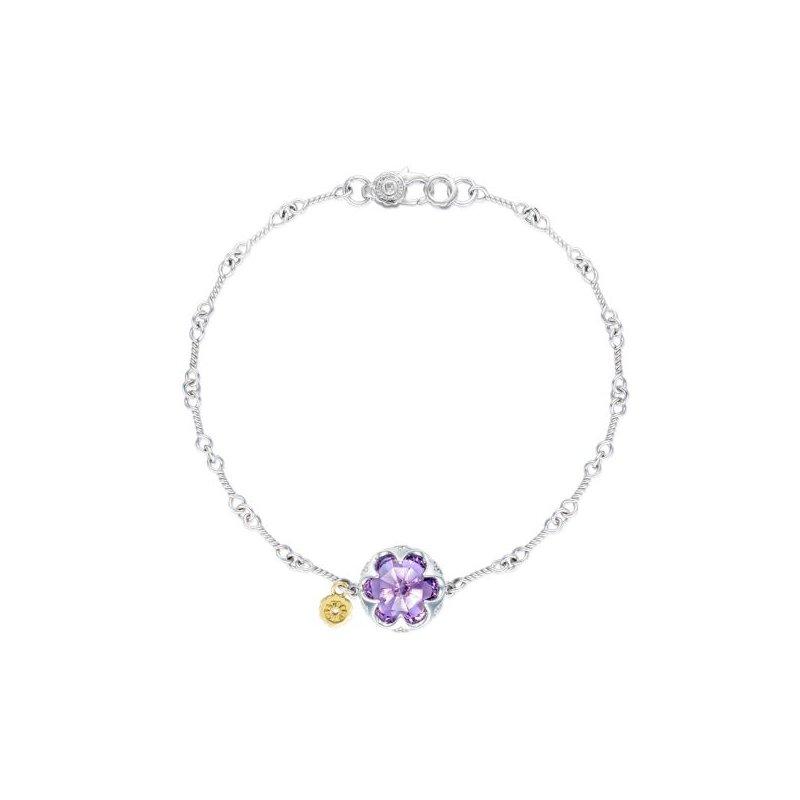 Tacori Crescent Gemstone Bracelet featuring Amethyst