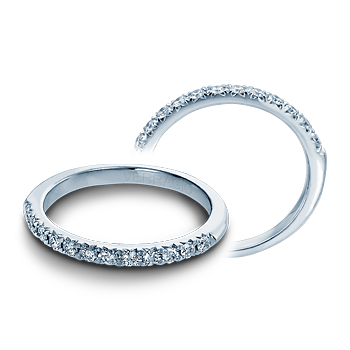 COUTURE-0374W White Gold Wedding Band