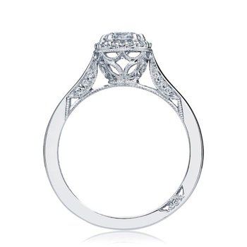 Dantela Halo Round Engagement Ring