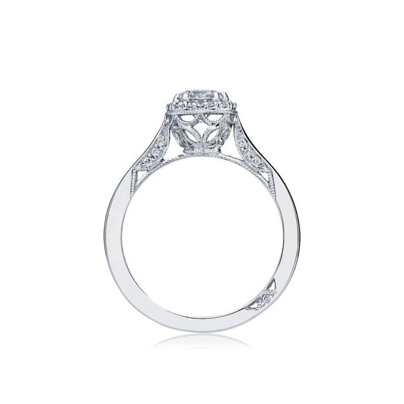 Tacori Dantela Halo Round Engagement Ring