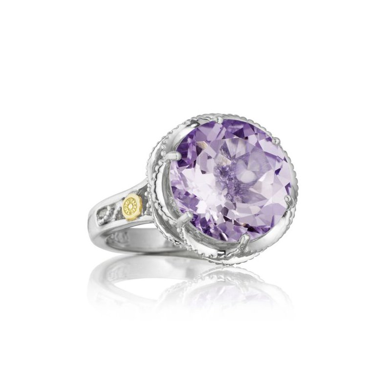 Tacori Crescent Gem Ring featuring Amethyst