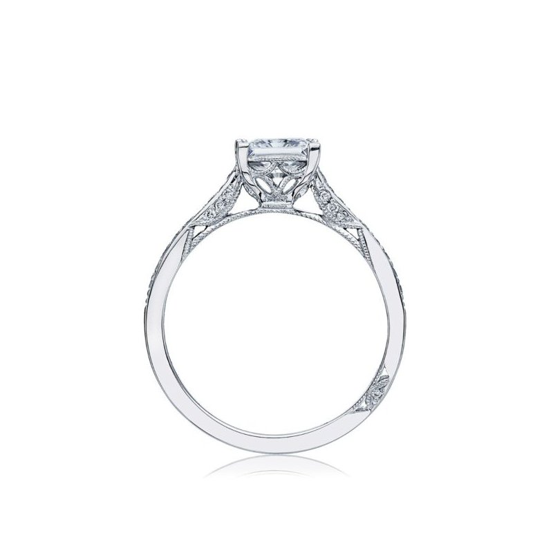 Dantela Princess Cut Engagement Ring