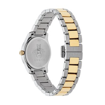 Two-Tone Yellow Gold Cat G-Timeless Gucci Watch