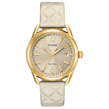 LTR LADIES ECO-DRIVE WITH WHITE