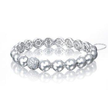 Tacori Silver Dew Drops Pavé Bracelet featuring Pavé