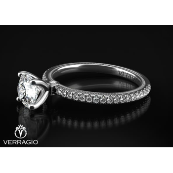 Verragio Tradition White Gold Engagement Ring