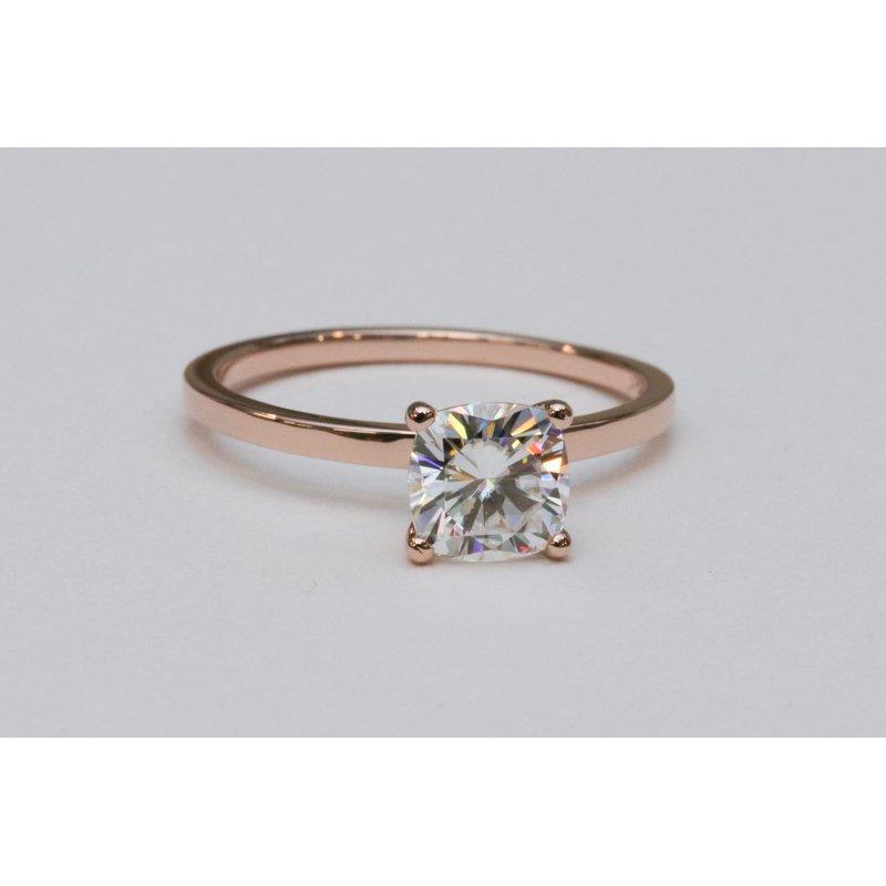 Rodan Jewellers Moissanite Solitaire Engagement Ring