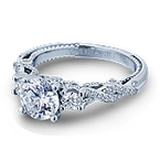 Verragio Insignia-7074R White Gold Engagement Ring