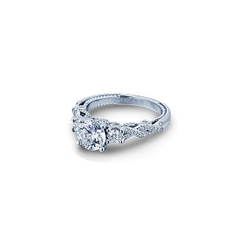 Insignia-7074R White Gold Engagement Ring