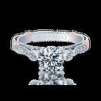 Verragio Parisian-124R White Gold Engagement Ring