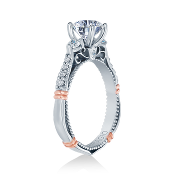 Parisian-124R White Gold Engagement Ring