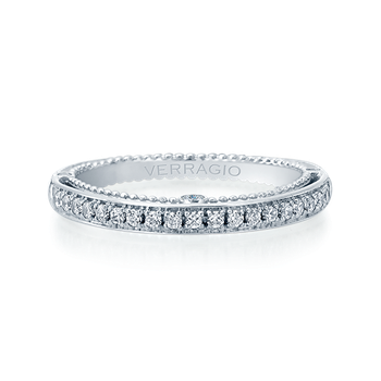 VENETIAN-5047W White Gold Wedding Band