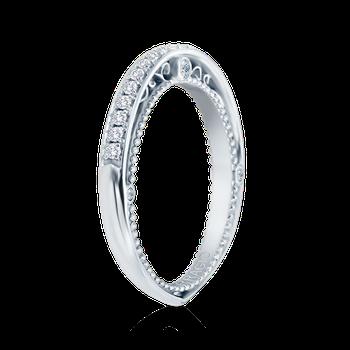 VENETIAN-5047W White Gold Wedding Band