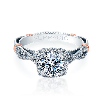 PARISIAN-106CU White Gold Engagement Ring