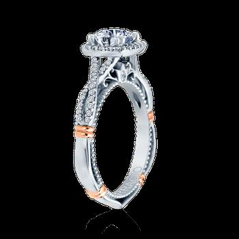PARISIAN-106CU White Gold Engagement Ring