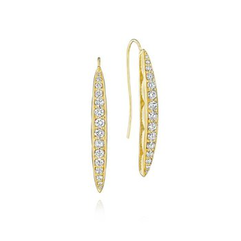 Tacori Ivy Lane Pavé Surfboard Drop Earrings