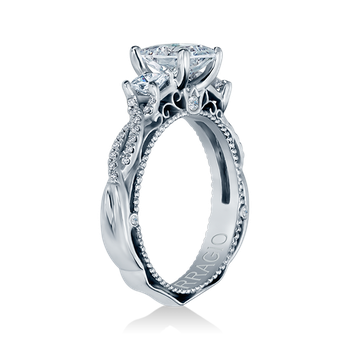 Venetian-5013R White Gold Engagement Ring