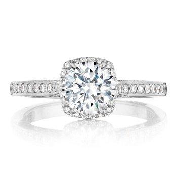 Dantela Platinum Engagement Ring