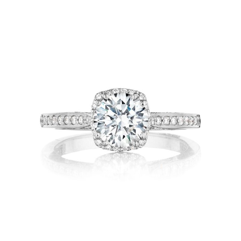 Tacori Dantela Platinum Engagement Ring