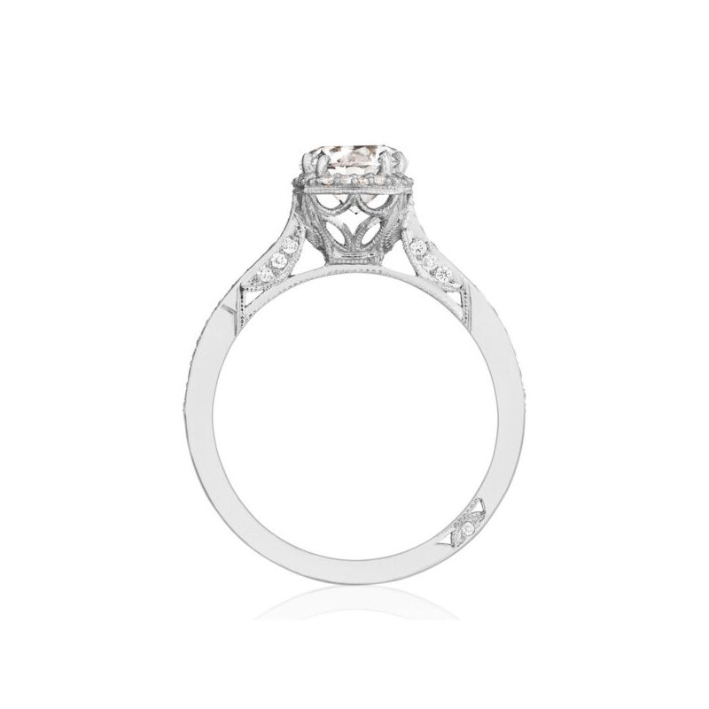 Dantela Platinum Engagement Ring