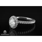 Verragio Verragio Tradition White Gold Oval Engagement Ring