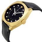 CLEARANCE Men's GG2570 Black and Gold Dial Watch