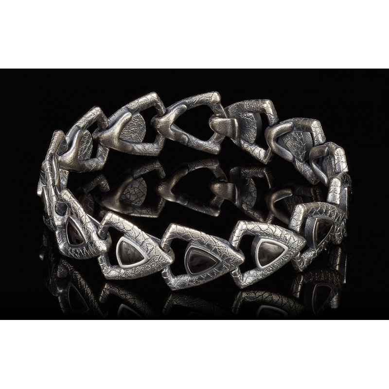 CLEARANCE William Henry CARBON PACE Bracelet
